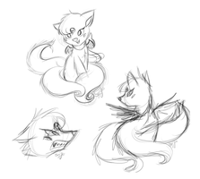 Sketches. by Sey-Yes