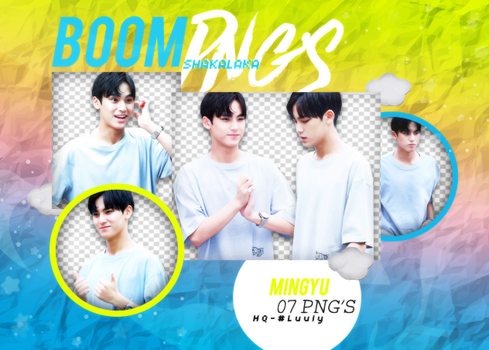 +Mingyu|Pack png 183|#HAPPYMINGYUDAY by WrappedInPolythene