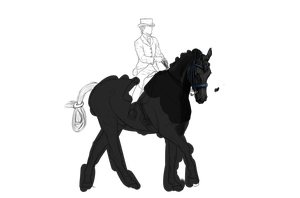 Ror Dressage WIP by ZombieOverLoad