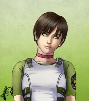 RE Portraits : Rebecca Chambers by Blood-Contagion