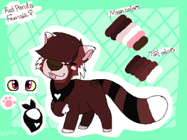 Red Panda Point Adoptable (45 points-CLOSED) by Sliced-Penguin