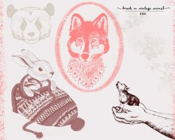 Brush - In Animal Vintage by Ihavethedreamersdise