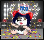 KISS Your Baby New Year by medek1