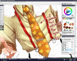 I want this neck tie plz by ryuuen