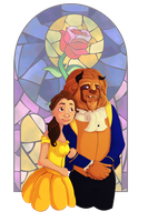 Beauty and the Beast by Illuminesci