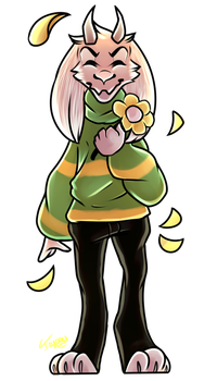 ~Undertale: Asriel~ by Cuteicypaw