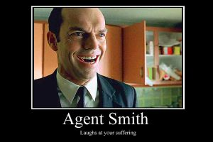 Agent Smith demotivator by Party9999999