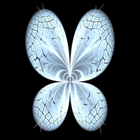 White butterfly by bunnywithrose