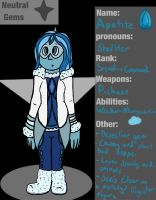 Neutral Gems Ref- Apatite by CharleetheCat-Bat