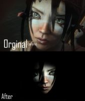 Kai before and after by Angust