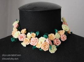 Custom rose Chocker I by Nika-N