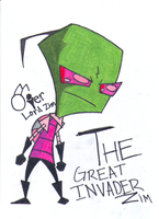 The Great Invader by AskOverlordZim