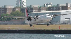 Cityjet Fokker F50 OO-VLN by The-Transport-Guild