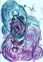 Pisces Koi by mymusicaladdiction