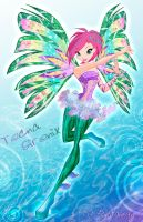 Winx club 5 season Tecna Sirenix by fantazyme