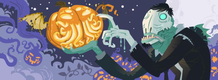 Halloween In R'lyeh by Onikaizer