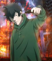 Psycho-pass 2 the movie: Kogami Shinya by Lesya7