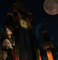 Gothic Clock Tower by Ray4359