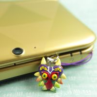 Majora's Mask 3DS charm by TrenoNights