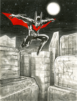 Batman Beyond by jbyrd117