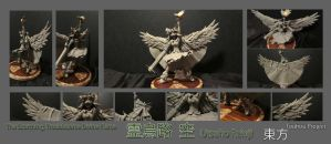 Utsuho unpainted by Zy0n7
