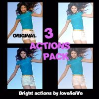 Bright actions -3 pack by lovelielife