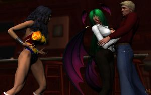 DIANA V MORRIGAN by lordcoyote