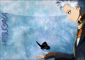Hitsugaya and a Hell Butterfly by Bleach-Writer