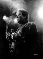 Bill Hicks by MLS-art