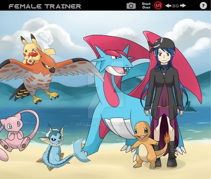 Pokemon Trainer by Arsyia