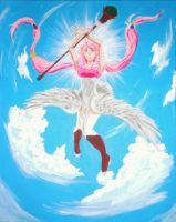 Wind Sorceress, Galah by CatW1ngs