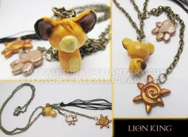 Simba Necklace by EmeraldSora