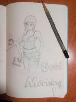 Good morning Twilight Sparkle! by ATraditional