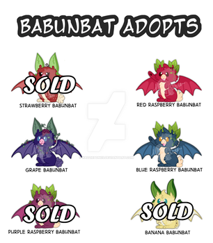 Babunbat Auction 1 by Kazziepones