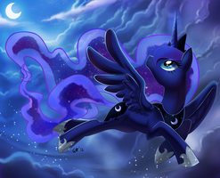it is luna! by fluttershyyyyyyyy