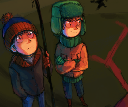 South Park Fanart Preview I by Tuooneo