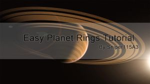 Easy Planet Rings Tutorial by Sniper115A3