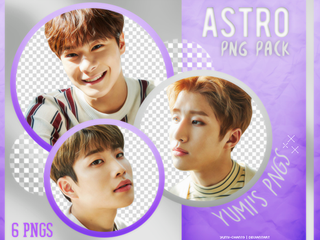 PNG PACK: ASTRO (Dream Part.1, Concept Photo #03) by Yumi-chan19
