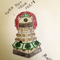 Irish Dance Dalek by rebeltreble