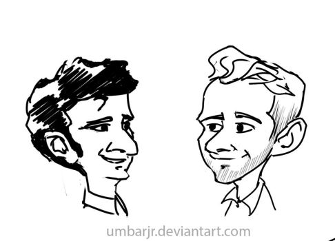 Sourcefed Joel Rubin and Sam Bashor by UmbarJr