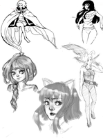 GB Sketchdump Again by Litteria