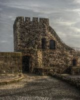 Carrickfergus Castle 6 by Isyala