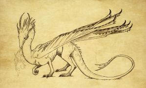 Young  Smaug by Eurwentala