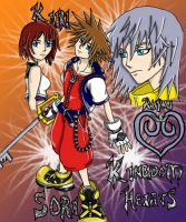 Colored Kingdom Hearts by Azralorne
