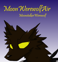 MoonWerewolfAir YouTube Icon by MoonstalkerWerewolf