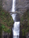 Multnomah Falls-Middle by Cyberpriest