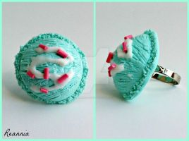 Mint Icecream Scoop Ring by Rhiannon-San