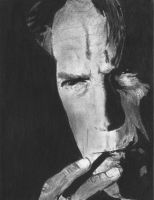 Clint Eastwood by SvdK92