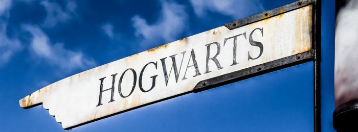 Hogwarts Sign (Facebook Timeline Cover Photo) by JoeyHawk11