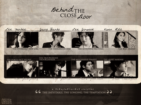 Behind Closed Door CC by EUNSHIHAE